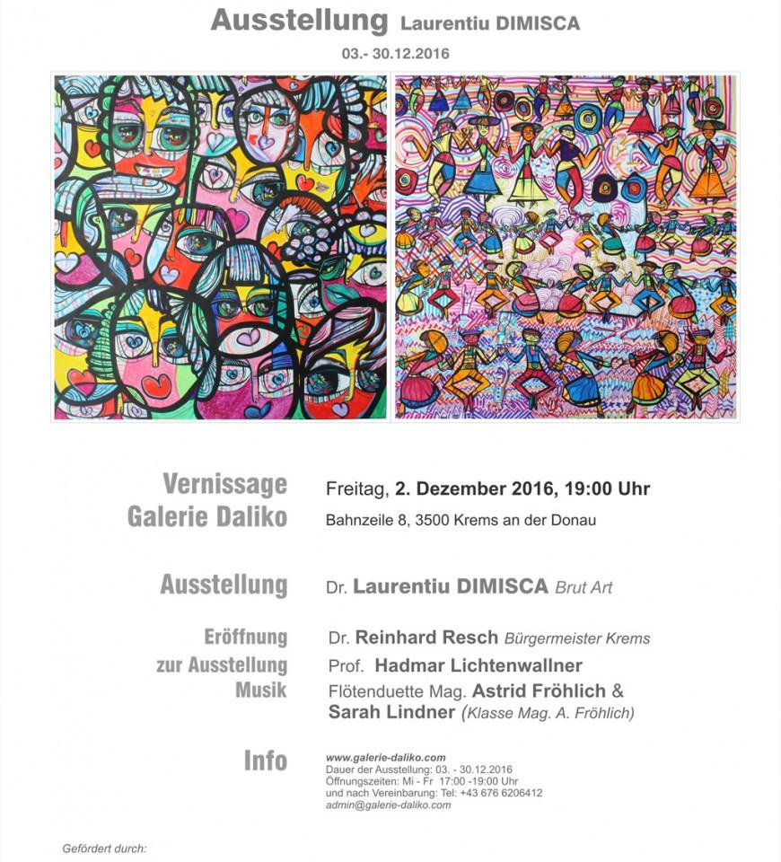 Ausstellung Laurentiu Dimisca